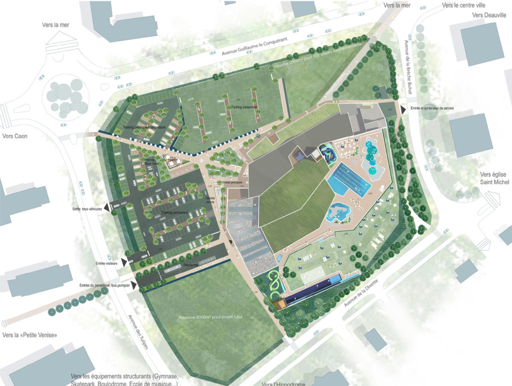 Présentation du projet de la piscine de Cabourg