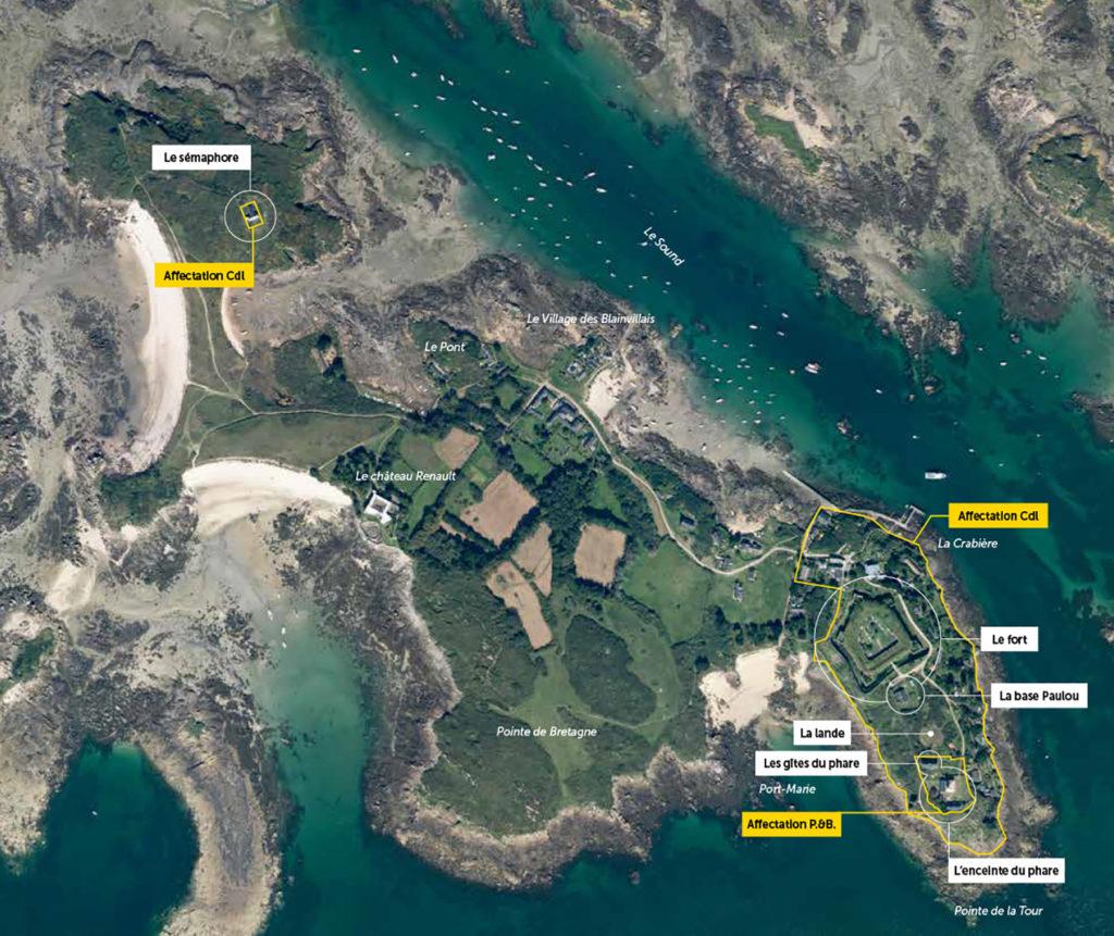 Présentation du projet d'aménagement des iles Chausey