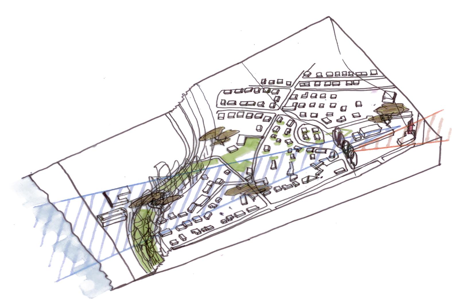 Présentation du projet de restructuration des anciennes écoles à Donville